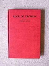 アンティーク 洋書 ROCK OF DECISION 1931 本 古書 ビンテージ