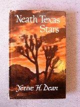 アンティーク 洋書 Neath Texas Stars 1955 本 古書 ビンテージ