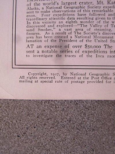 画像5: 1920'S ナショナルジオグラフィック アンティーク 洋書 THE NATIONAL GEOGRAPHIC MAGAZINE 20'S 1927 ナショジオ 本 古書 ビンテージ