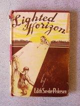 アンティーク 洋書 LIGHTED HORIZON 1940 本 古書 ビンテージ