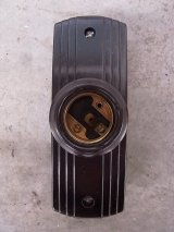 アンティーク 1930'S 1940'S ウォールマウント&シーリングマウント ベークライト 1灯 デッドストック ビス付き ビンテージ