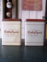 アンティーク ティン缶  CROSBY SQUARE タバコ缶 ビンテージ
