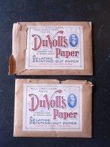 アンティーク 19世紀 1890'S フォト 現像 印画紙 アドバタイジング PHOTOGRAPHICA DUVOLL'S GELATINE PRINTING-OUT PAPER デッドストック ビンテージ