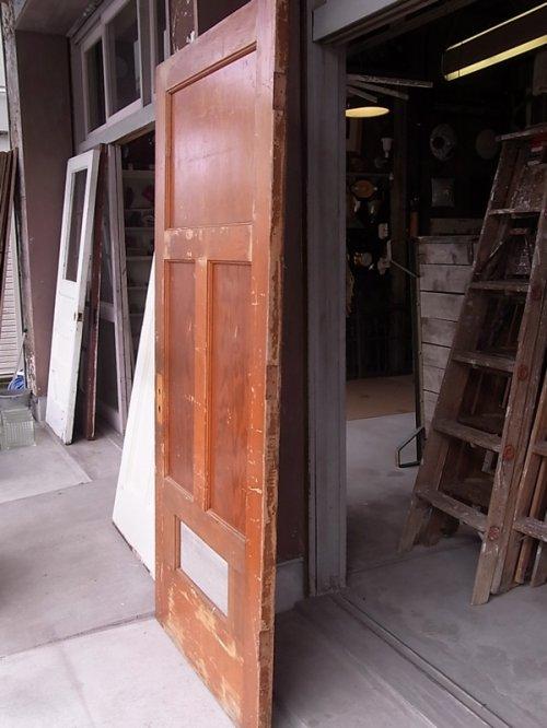 other photographs.3: 1920'S アンティーク 木製ドア ベアウッド アルミルーバー 通気口 ビンテージ