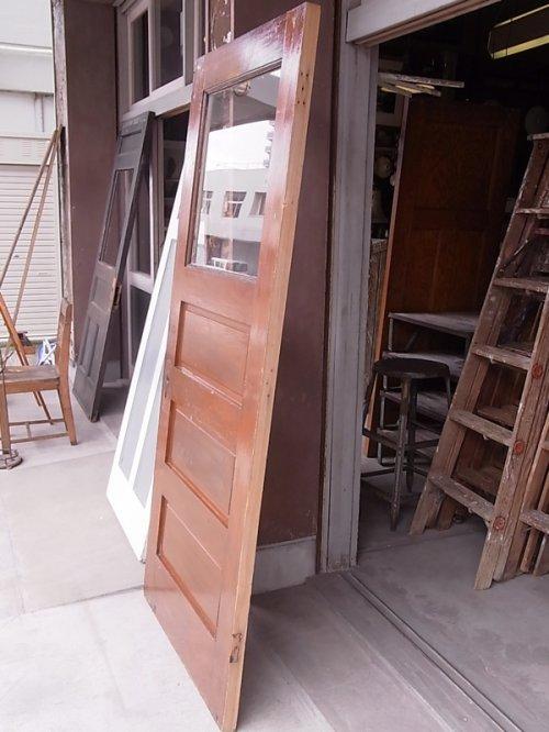 other photographs.2: アンティーク ガラス窓付木製ドア ホワイト×ウッド ビンテージ