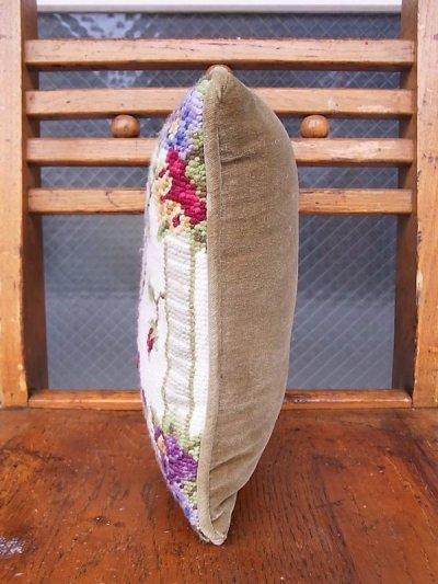 画像3: アンティーク ミニクッション 刺繍 金婚式 50 YEARS TOGETHER ヴィンテージ