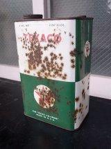 アンティーク ティン缶 TEXACO テキサコ オイル缶 ビンテージ
