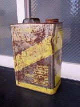 アンティーク ティン缶 1ガロン GASOLINE   ガソリン缶 オイル缶 ビンテージ