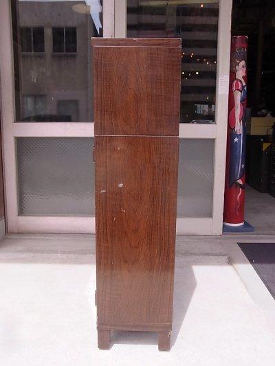 画像4: 1930'S 40'S スチールブックシェルフ  ディスプレイ ショー ケース 陳列棚 4段 脚付き Art Metal アンティーク ビンテージ
