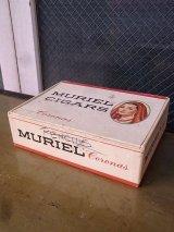紙箱 シガーボックス ギター MURIEL CIGARS 葉巻 タバコ 店舗用装飾品 アドバタイジング アンティーク ビンテージ