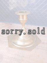 キャンドルホルダー スタンド ろうそく立て 燭台 真鍮 アンティーク ビンテージ