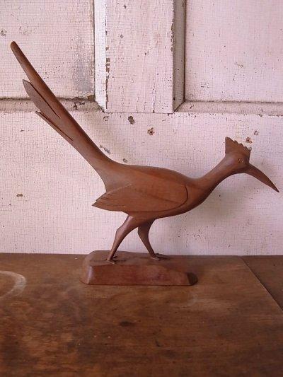 画像3: 鳥 バード キジ ウッド folkart フォークアート アンティーク ビンテージ