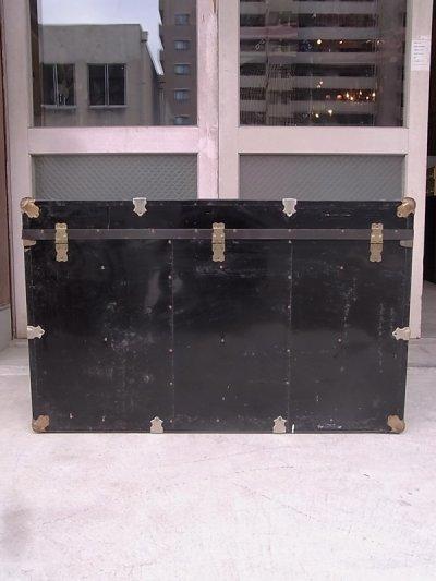 画像3: トランク 超大型 トランク スチーマートランク 鍵付 コーヒーテーブルに アンティーク ビンテージ