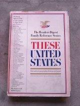 洋書 THESE UNITED STATES 1968 アメリカ ユナイテッドステイツ 本 古書 アンティーク ビンテージ