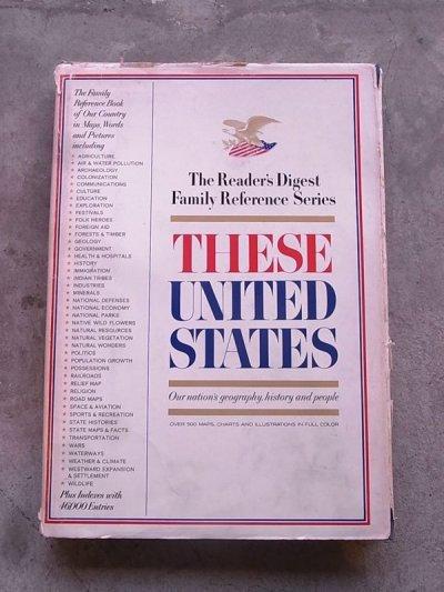 画像1: 洋書 THESE UNITED STATES 1968 アメリカ ユナイテッドステイツ 本 古書 アンティーク ビンテージ