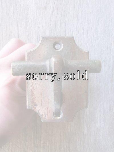 画像2: 19世紀 1870'S 80'S ドアベル 真鍮 アイアン 呼び鈴 鋳物 アンティーク ビンテージ