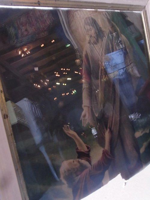 other photographs.2: 1870'S 1880'S 1890'S ジーザス jesus イエス キリスト ウッドフレーム ガラス入り アンティーク ウォールオーナメント ビンテージ