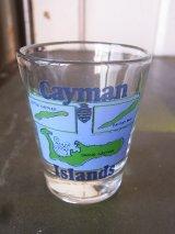 ショットグラス shotglass tequila CAYMAN ISLANDS アンティーク ビンテージ