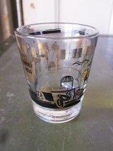 ショットグラス shotglass tequila BEVERLY HILLS アンティーク ビンテージ