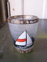 ショットグラス shotglass tequila CHICAGO アンティーク ビンテージ
