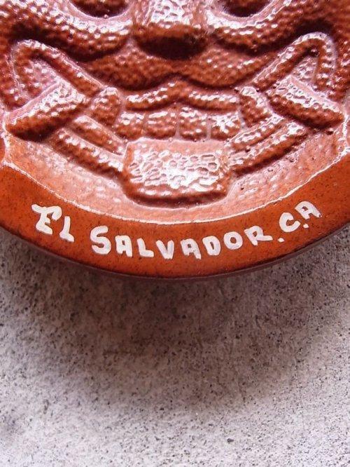 other photographs.1: コスタリカ 灰皿 アッシュトレイ アニマル EL SALVADOR CA 陶器 アンティーク ビンテージ
