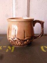マグカップ 1970'S 陶器マグ きのこ マッシュルーム アンティーク ビンテージ