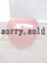 リンゴ apple アップル 卓上オブジェ ウッド アンティーク ビンテージ