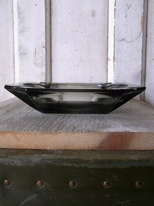 other photographs.1: 1970'S 灰皿 アッシュトレイ ガラス 色付きガラス グレー 8角形 アンティーク ビンテージ