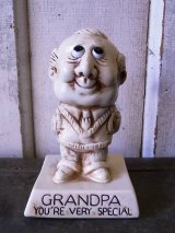70'S メッセージドール 人形 GRANDPA YOU'RE VERY SPECIAL アンティーク ビンテージ