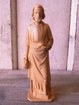 イエス・キリスト 聖人 オブジェ プラスティック 小型 卓上オブジェ アンティーク ビンテージ
