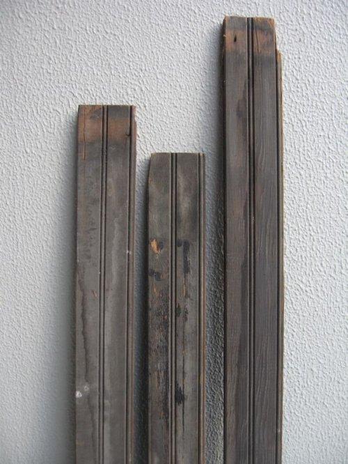 other photographs.2: ビードボード old フロアー材 壁材 床材 廃材 Bead-Board ブラック シャビー アンティーク ビンテージ