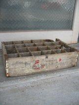 1940'S ボトルクレート NESBITT'S ORANGE ボトルケース ウッドボックス 木箱 アドバタイジング アンティーク ビンテージ その3