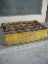 ボトルクレート JOHNSONS BEVERAGES ボトルケース ウッドボックス 木箱 アドバタイジング アンティーク ビンテージ その3