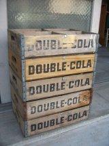 ボトルクレート ダブルコーラ DOUBLE COLA ボトルケース ウッドボックス 木箱 アドバタイジング アンティーク ビンテージ その7