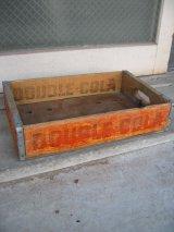 1940'S 50年代 ボトルクレート DOUBLE COLA ボトルケース ウッドボックス 木箱 アドバタイジング アンティーク ビンテージ その10