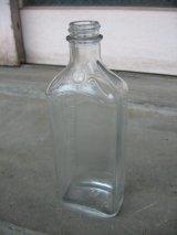 19世紀 ガラスボトル メディスンボトル 薬瓶 クリアガラス 目盛り アンティーク ビンテージ