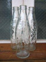 エンボス SODA BOTTLE ソーダボトル ポップボトル ガラス瓶 ペプシコーラ PEPSI COLA アドバタイジング アンティーク ビンテージ