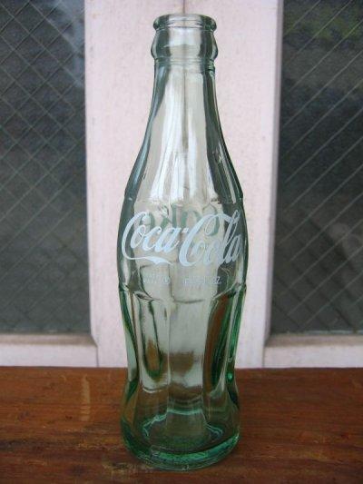 画像1: SODA BOTTLE ソーダボトル ポップボトル ガラス瓶 コカコーラ COCA COLA coke コンツアーボトル アドバタイジング アンティーク ビンテージ