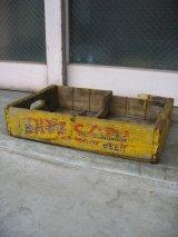 ボトルクレート RITZ SODA DADS ROOT BEER ボトルケース ウッドボックス 木箱 アドバタイジング アンティーク ビンテージ