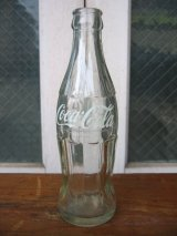 SODA BOTTLE ソーダボトル ポップボトル ガラス瓶 コカコーラ COCA COLA coke クリアガラス アドバタイジング アンティーク ビンテージ