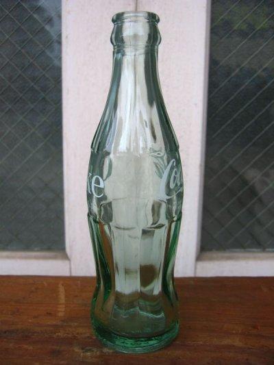 画像2: SODA BOTTLE ソーダボトル ポップボトル ガラス瓶 コカコーラ COCA COLA coke コンツアーボトル アドバタイジング アンティーク ビンテージ