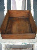 ウッドボックス 木箱 ストレージBOX 無地 アンティーク ビンテージ