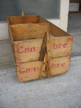 クランベリークレート ウッドボックス Cambre 木箱 ストレージBOX スタッキング可 アンティーク ビンテージ