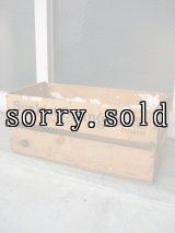ウッドボックス Sunkist Oranges California 木箱 ストレージBOX アドバタイジング アンティーク ビンテージ