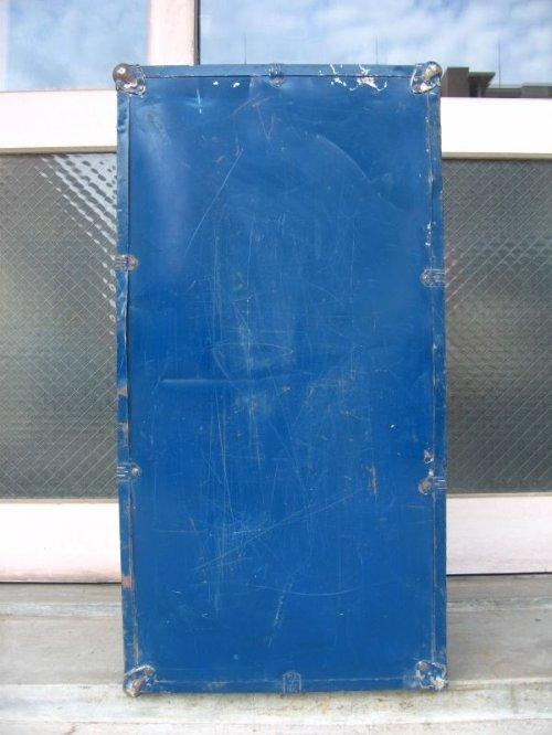 other photographs.3: トランク スーツケース 中型 ブルー 鍵付き 店舗什器に アンティーク ビンテージ