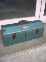 1960'S ツールボックス PARK メタルボックス 工具箱 インダストリアル アンティーク ビンテージ