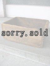 ウッドボックス BULL DOG TOE CALKS 木箱 ストレージBOX アドバタイジング アンティーク ビンテージ