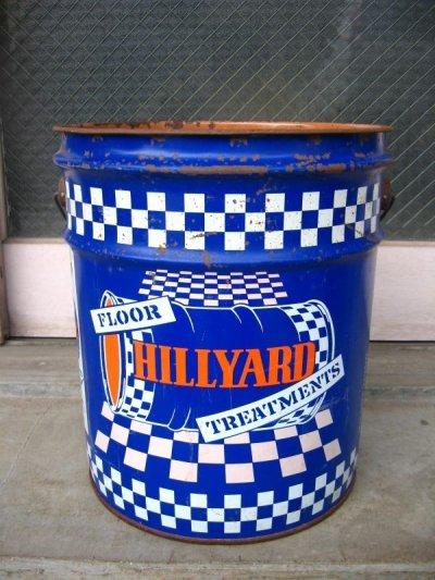 画像2: トラッシュカン おしゃれなゴミ箱に! ティン缶 HILLYARD アンティーク ビンテージ