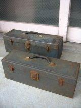ツールボックス 1940'S SHERMAN KLOVE TOOLS メタルボックス 工具箱 インダストリアル アンティーク ビンテージ