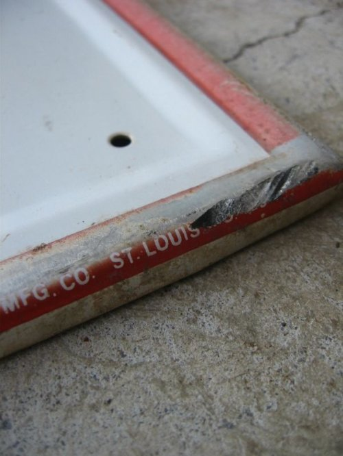 other photographs.2: 看板 Fire Stone  ファイヤーストーン サイン アルミ 大型 アンティーク ビンテージ